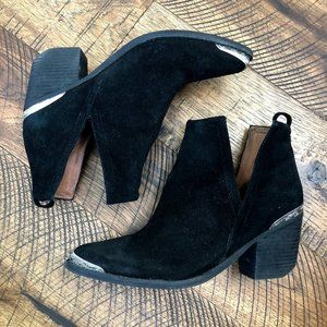 JEFFREY CAMPBELL Cromwell Cutout Leather Bootie